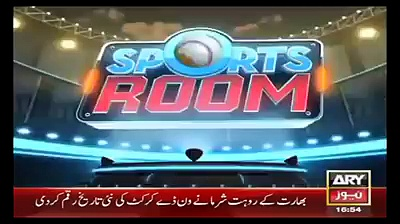"""Ahmed shehzad Interview on Ary news """"Sports News"""""""