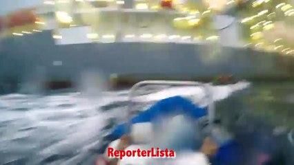 Greenpeace, gommoni speronati alle canerie: attivista italiana ferita