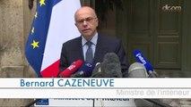 Conférence de presse de Bernard Cazeneuve sur la lutte contre les actions terroristes