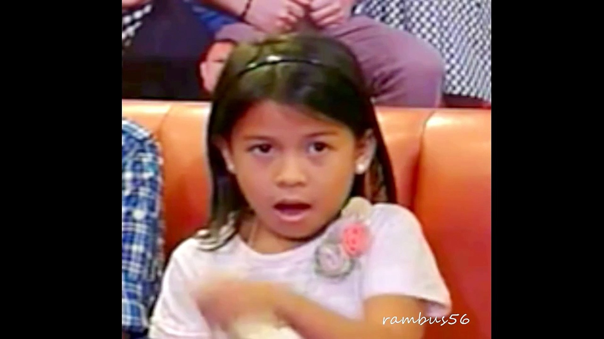 LYCA GAIRANOD- Entertaining funny actions during The Voice Kids Concert presscon