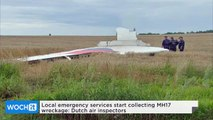 Local Emergency Services Start Collecting MH17 Wreckage: Dutch Air Inspectors