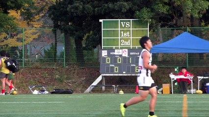 20141115 GOANNAS vs MAGPIES Q1 東京ゴアナーズ対駒澤マグパイズ - AFL Japan