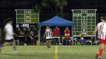 20141115 GOANNAS vs MAGPIES Q4 東京ゴアナーズ対駒澤マグパイズ - AFL Japan
