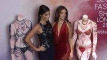 Alessandra Ambrosio y Adriana Lima se ven como un millón de dólares viendo sus sostenes fantasía de Victoria's Secret