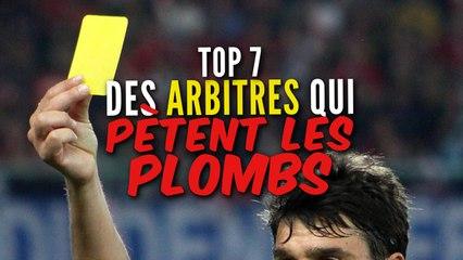 Top 7 des arbitres qui pètent les plombs