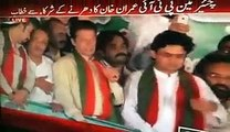 PTI Dharna-PTI Leader Imran Khan openly asked workers to attack on the Police in Islamabad