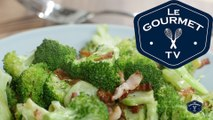 Pan-Roasted Broccoli Recipe - LeGourmetTV