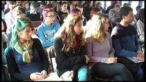 Péniche de l'égalité à Valence : rencontre avec le lycée Amblard