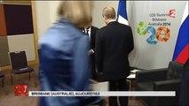 Fail : François Hollande se tape la honte en oubliant de saluer Vladimir Poutine !