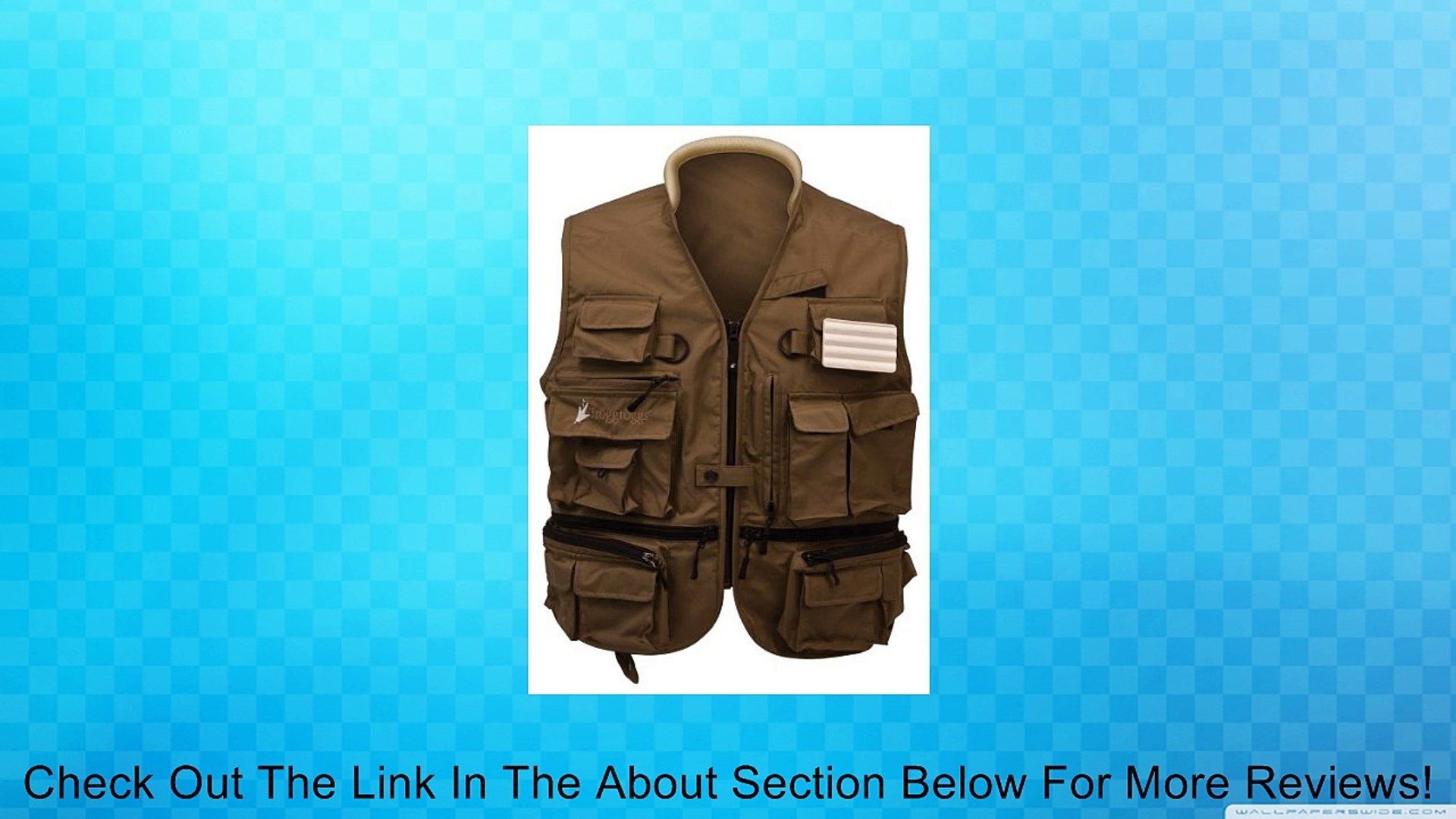 Frogg Toggs Hellbender ToadSkinz Pack Vest, XX-Large, Khaki Review