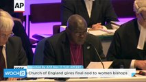 Church of England Gives Final Nod to Women Bishops