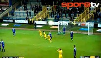 Konferans Ligi'nde efsane bir gol!...