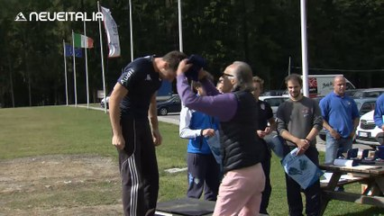 Campionati italiani di spinta Cortina 2014 - Intervista a Nico Lestingi