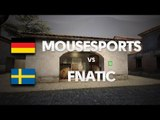 Mousesports vs Fnatic on de_mirage (1st map) @ CS ARENA #2 by ceh9