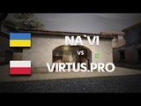 Na`Vi vs Virtus.PRO on de_mirage (2nd map) @ DH SUMMER