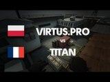 Virtus.PRO vs TITAN on de_cache (2nd map) @ FACE iT by ceh9