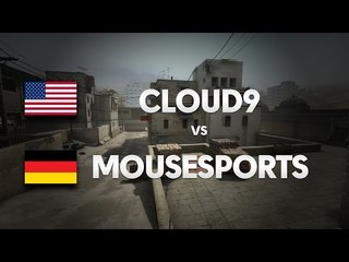 mousesports vs CLOUD9 on de_dust2 (1st map) @ cKOTH by ceh9