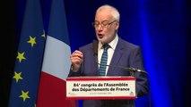 Intervention de Claudy Le Breton Président de l'Assemblée des Départements de France au congrès de l'ADF à Pau
