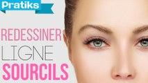 Comment faire une belle ligne de sourcil - Astuce maquillage