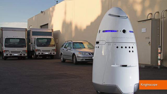 Microsoft Hires Robot Security Guards