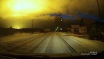 Explosion dans le ciel dans la région Sverdlovsk en Russie