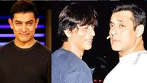 Salman Khan Shahrukh Khan Aamir Khan Party At Arpita Khan's Wedding Celebrations