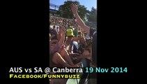 AUS vs SA @ Canberra Chanting #GoNawazGo & #GoNawazGo