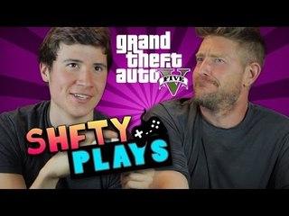 SHFTY Plays GTA V with Brandon Calvillo and Jason Nash