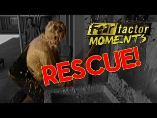 Fear Factor Moments | Psycho Shower Rescue