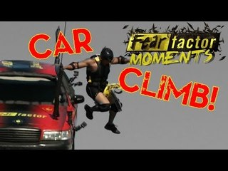 Fear Factor Moments | Helicopter Car Lift