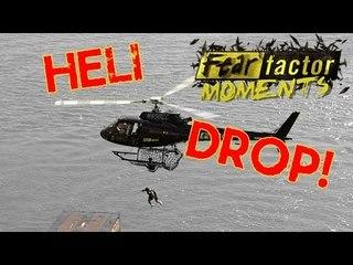 Fear Factor Moments | Heli Box Drop
