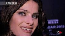 ISABELI FONTANA Interview PIRELLI CALENDAR 2015 by Fashion Channel