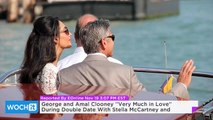 George and Amal Clooney ''Very Much in Love'' During Double Date With Stella McCartney and Alasdhair Willis