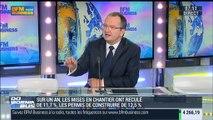 """Plan Juncker: """"Il faut chercher des financements européens pour relancer le secteur du bâtiment"""": Jacques Chanut - 20/11"""