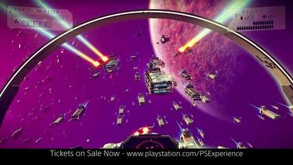 A Night Under No Man's Sky at PlayStation Experien de No Man's Sky
