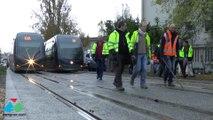 Premiers essais du tramway sur l'extension de la ligne A à Mérignac