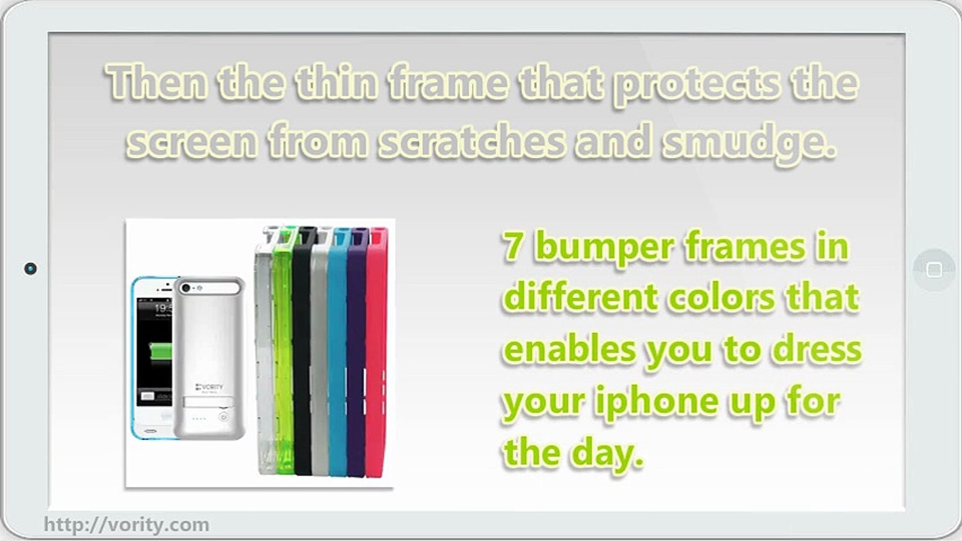 The Perfect Vority X5S iPhone 5 and 5S Battery Rubberized Case