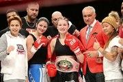 Girl Power Kickboxing Tourney feat IBA boxing world title Briedis vs Abdoul