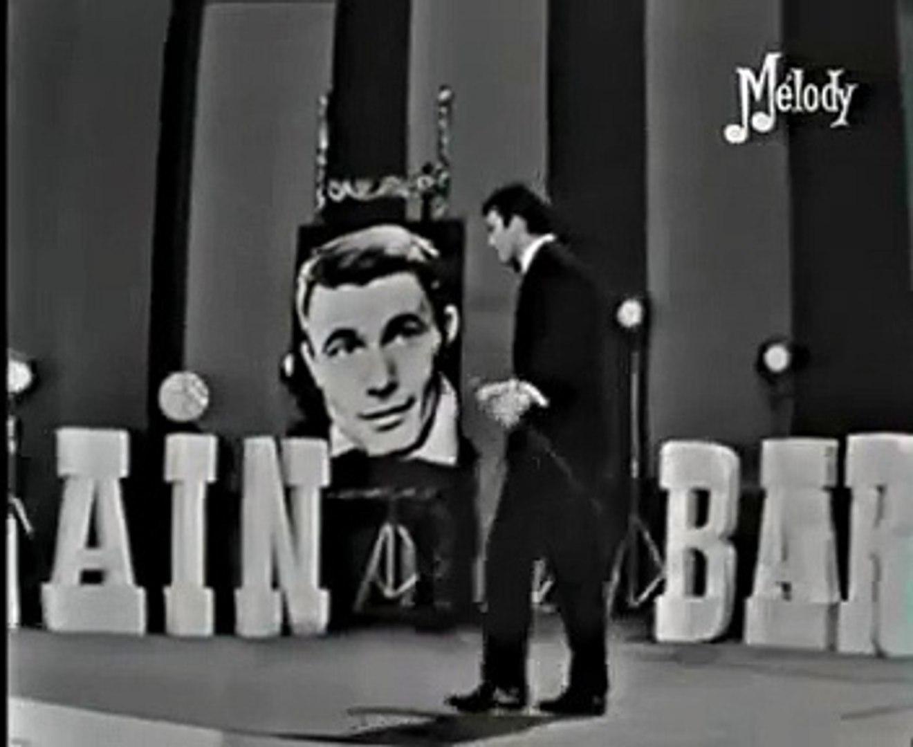 Alain Barrière -  Les matins bleus  (Live - 1966) NB