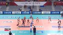 V-League KGC vs. Korea Expressway, Samsung Hwajae vs. OK Savings Bank