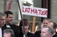 VIDEO. Manif express des avocats du barreau des Deux-Sèvres à Niort