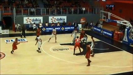 ProB J5 LMB-Denain : Ivan Almeida big dunk