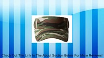 Army Camouflage Sun Visor Hat, Camouflage Review