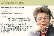 AL PIE DEL TIEMPO - SOCORRO DIAZ PALACIOS - MÉXICO: LUCES Y SOMBRAS
