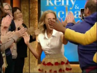 Kristin Chenoweth on Live with Kelly & Michael