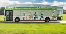 Bu Otobüs İnsan Atığıyla Çalışıyor