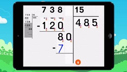 Poser une division a deux chiffres - Vidéo 11