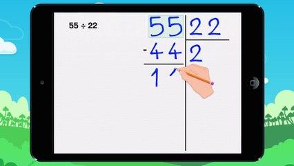 Poser une division a deux chiffres - Vidéo 10