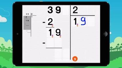 Poser une division décimale - Vidéo 2