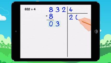 Poser une division euclidienne - Vidéo 13